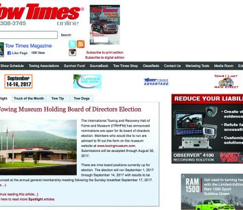 Websites – Tow Times